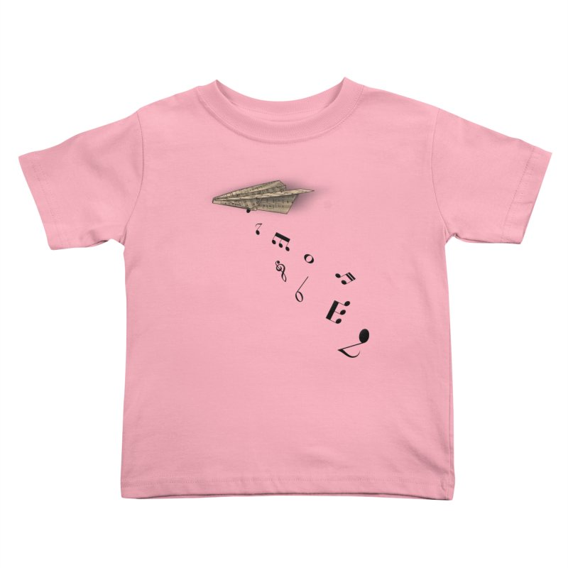 Musical Attack Kids Toddler T-Shirt by Opippi
