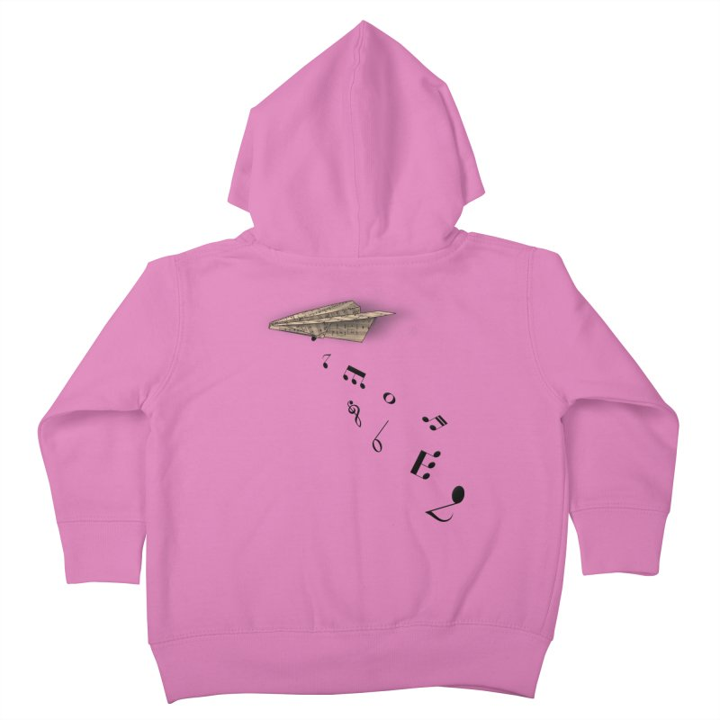 Musical Attack Kids Toddler Zip-Up Hoody by Opippi