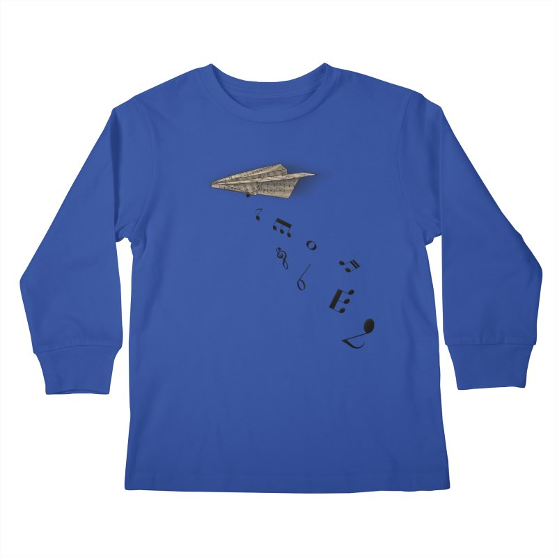 Musical Attack Kids Longsleeve T-Shirt by Opippi