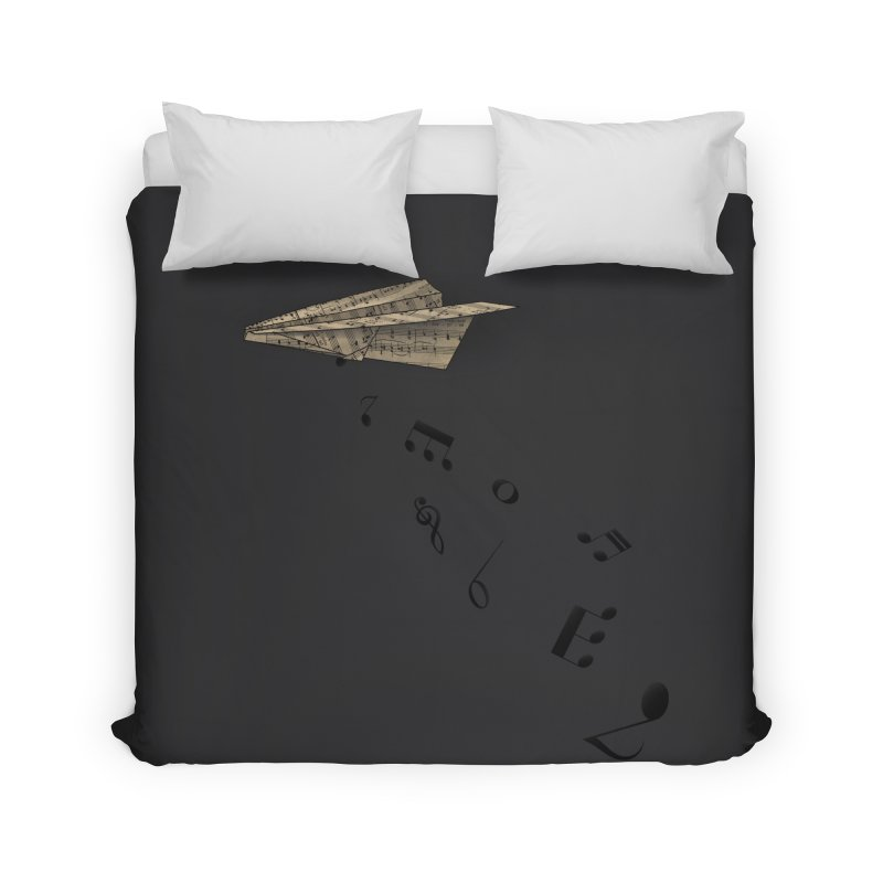 Musical Attack Home Duvet by Opippi