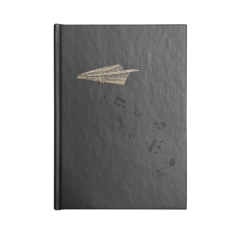 Musical Attack Accessories Notebook by Opippi