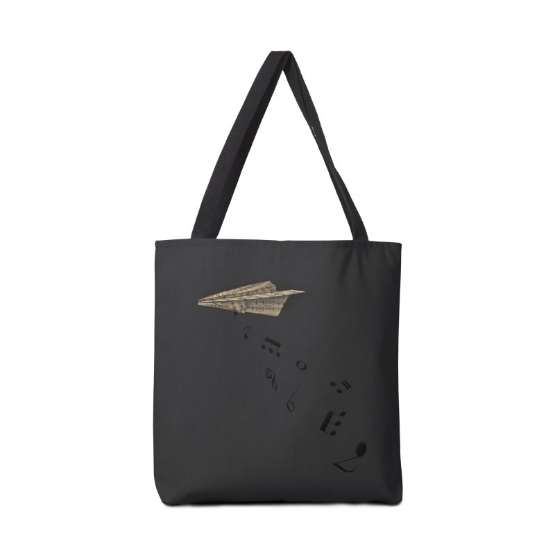 Musical Attack Accessories Tote Bag Bag by Opippi