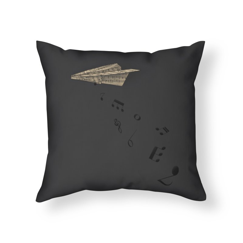 Musical Attack Home Throw Pillow by Opippi