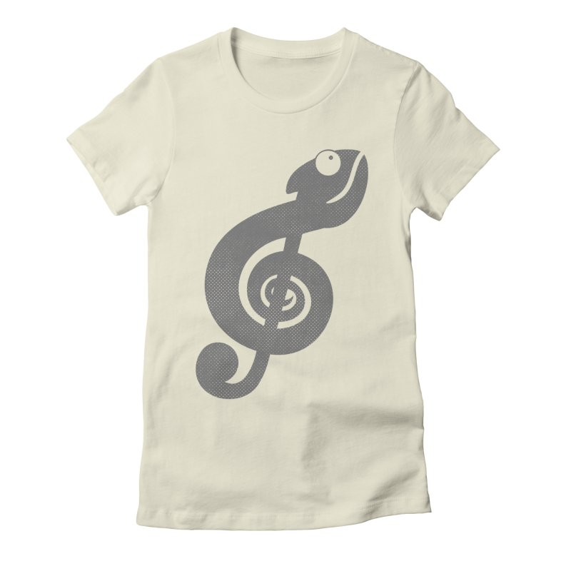 Nature Song Women's Fitted T-Shirt by Opippi