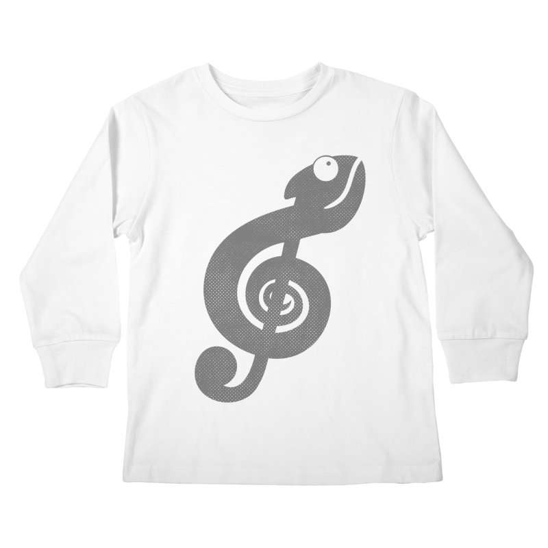 Nature Song Kids Longsleeve T-Shirt by Opippi