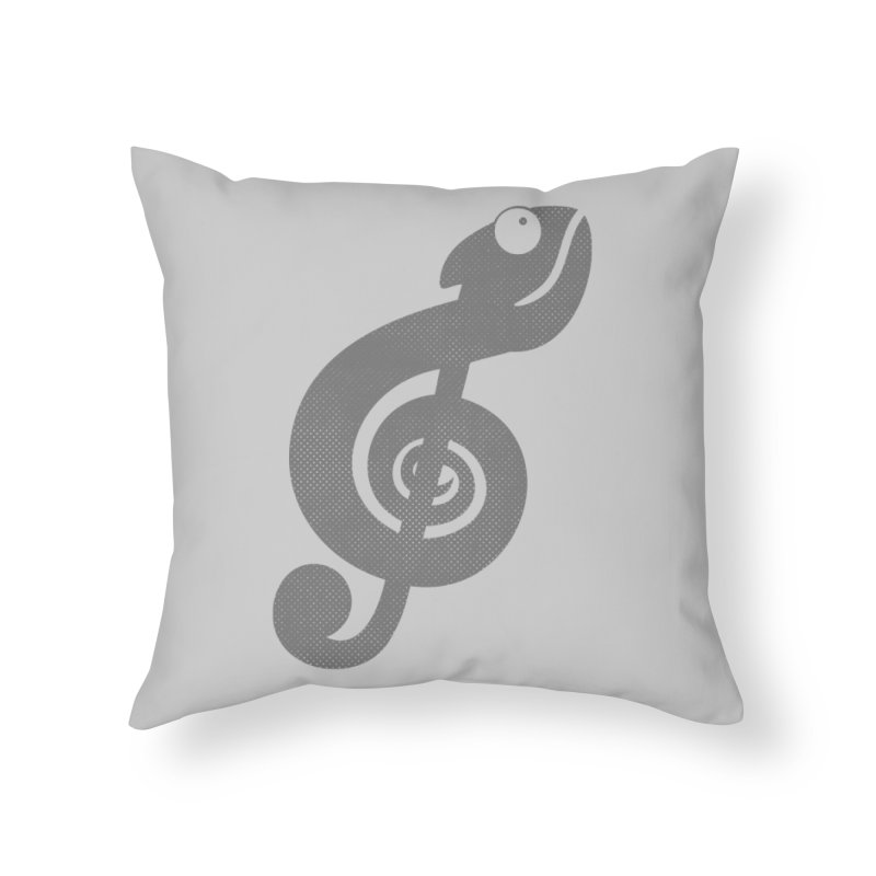 Nature Song Home Throw Pillow by Opippi