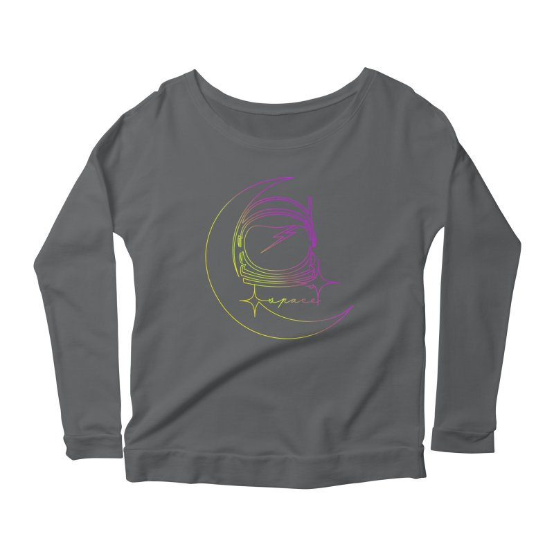 Astroline Women's Scoop Neck Longsleeve T-Shirt by Opippi