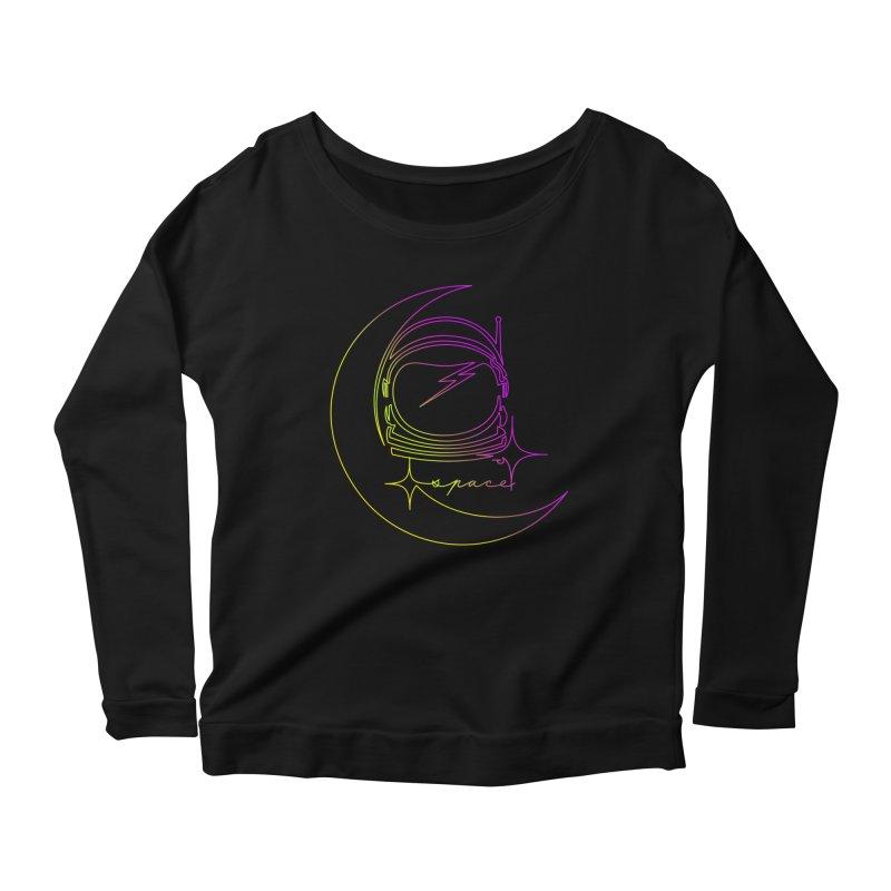 Astroline Women's Longsleeve Scoopneck  by Opippi