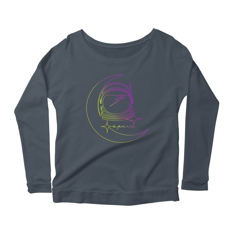 Astroline Women's Scoop Neck Longsleeve T-Shirt by Opippi