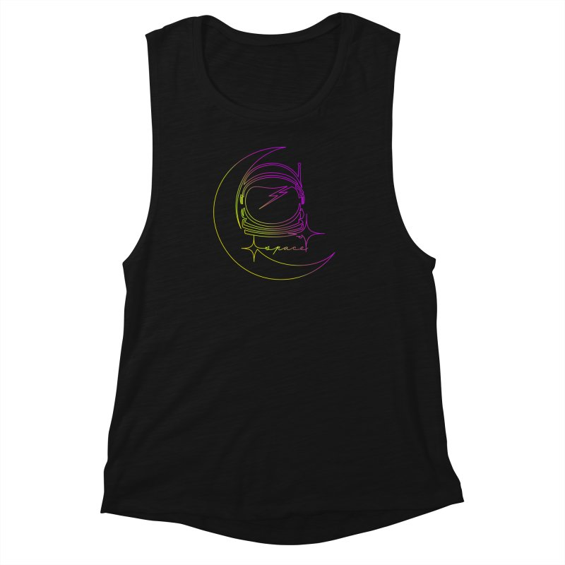 Astroline Women's Muscle Tank by Opippi