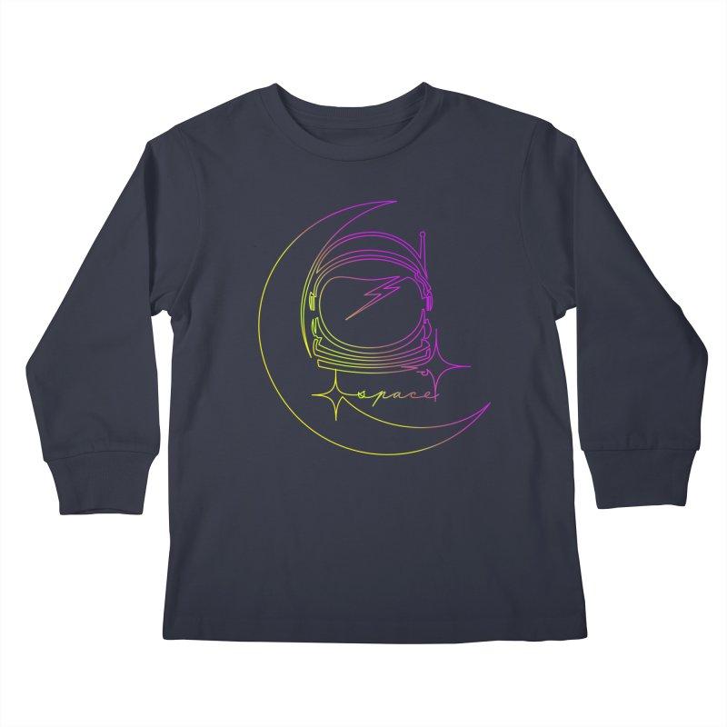 Astroline Kids Longsleeve T-Shirt by Opippi