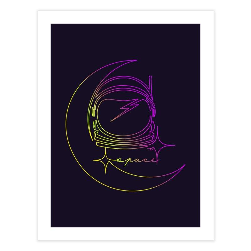 Astroline Home Fine Art Print by Opippi