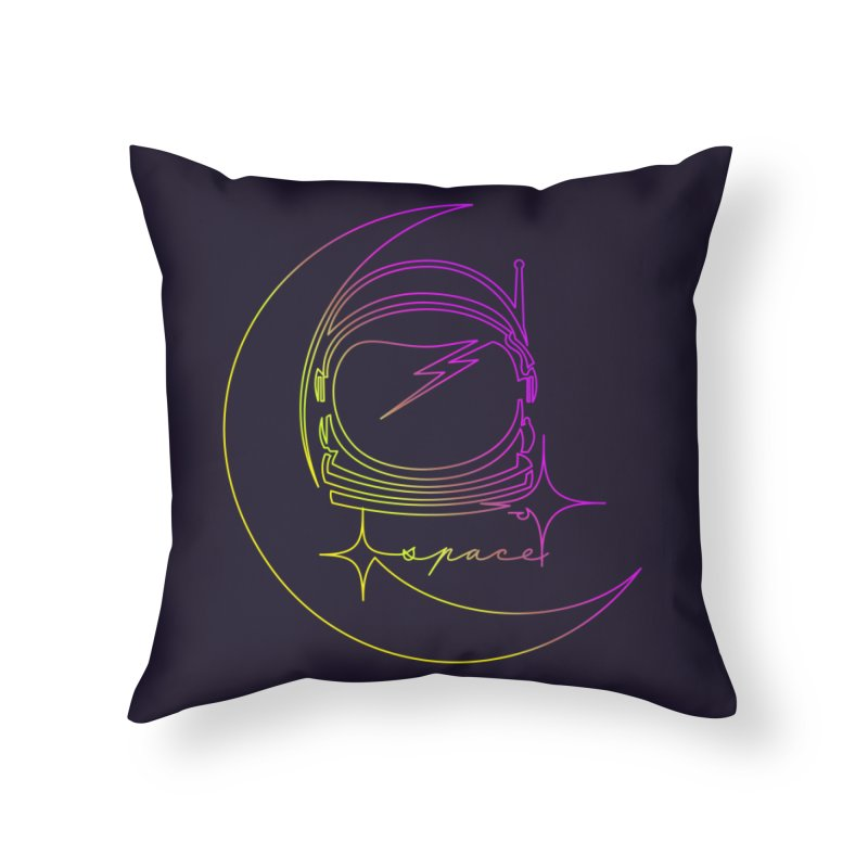 Astroline Home Throw Pillow by Opippi