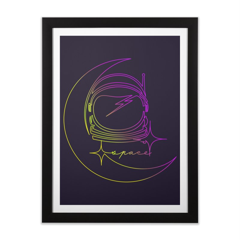 Astroline Home Framed Fine Art Print by Opippi