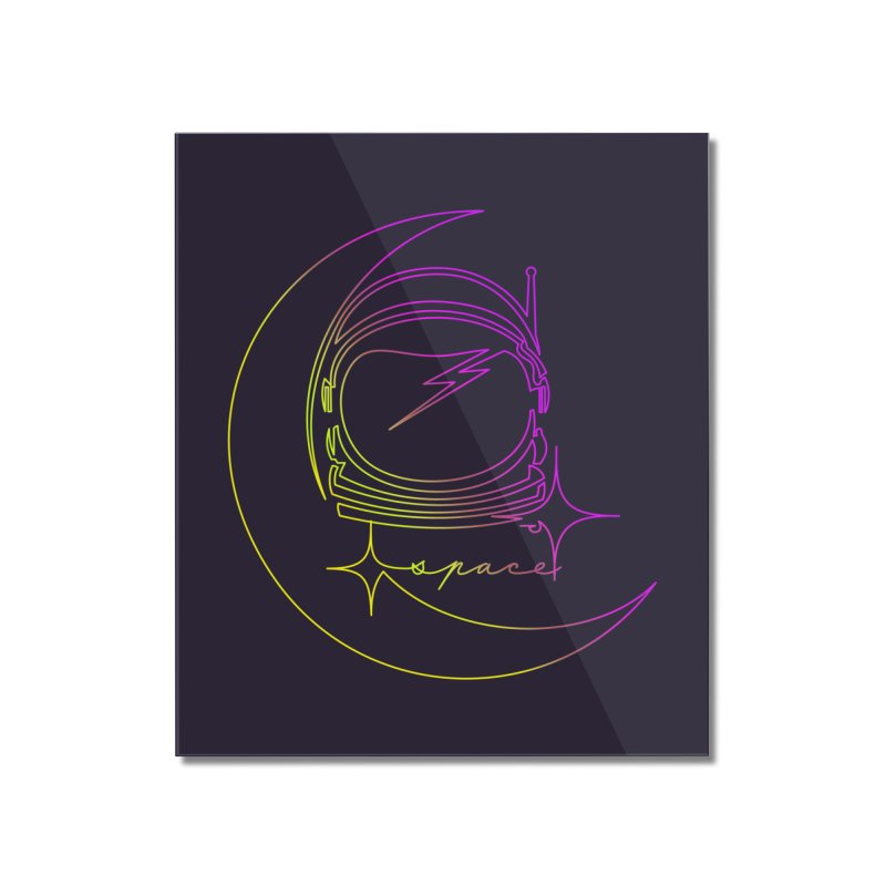 Astroline Home Mounted Acrylic Print by Opippi