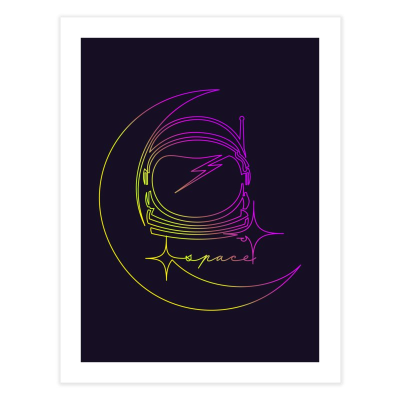 Astroline Home Fine Art Print by Opippi