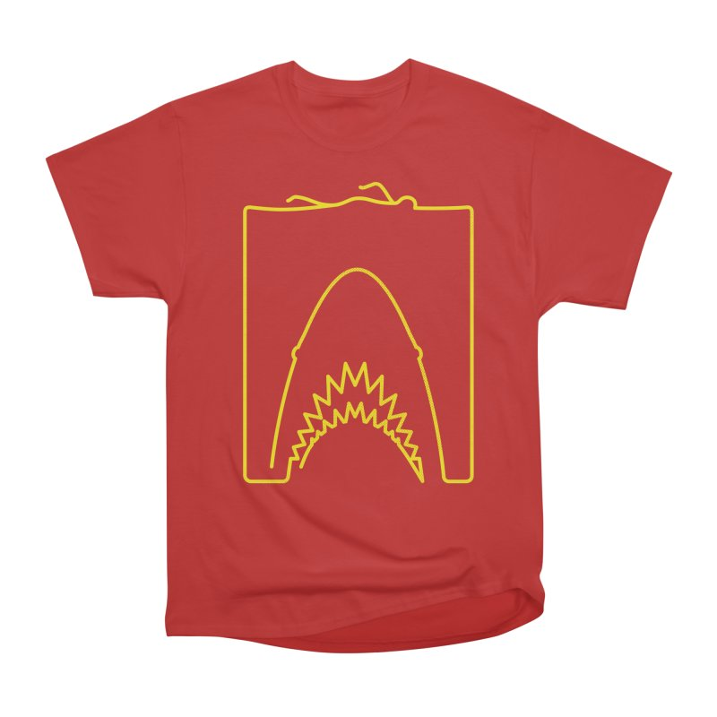 The Swimming Men's Heavyweight T-Shirt by Opippi