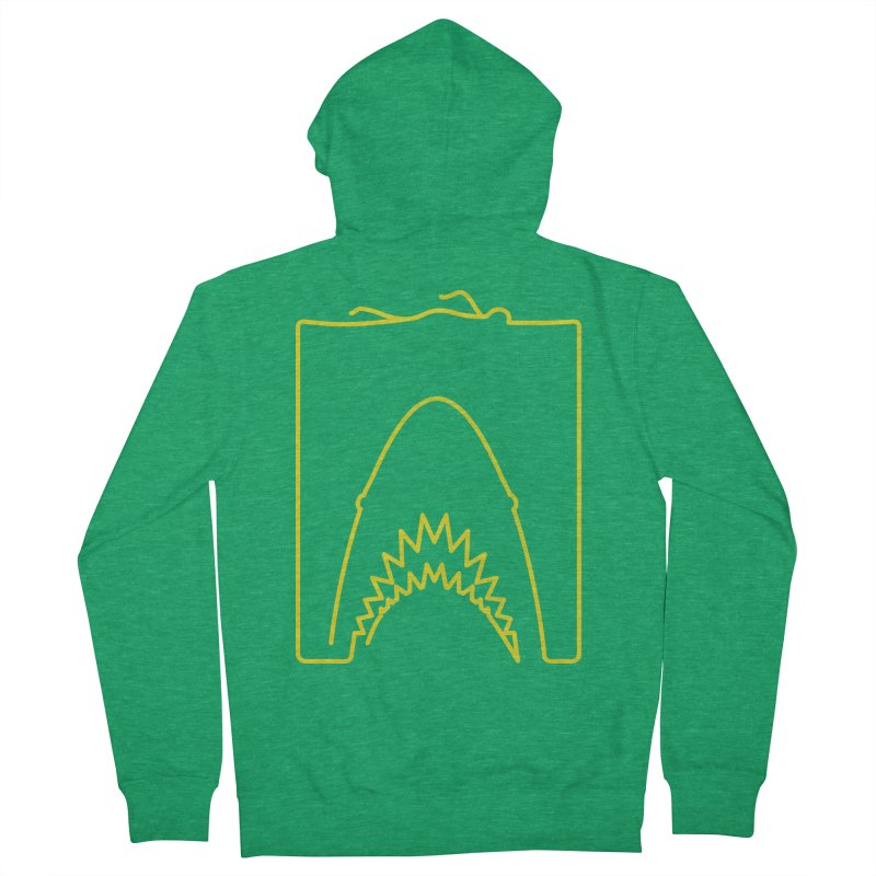 The Swimming Men's French Terry Zip-Up Hoody by Opippi