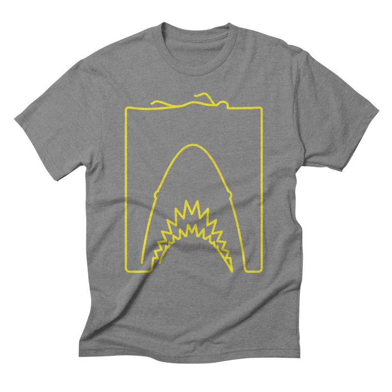 The Swimming Men's Triblend T-Shirt by Opippi