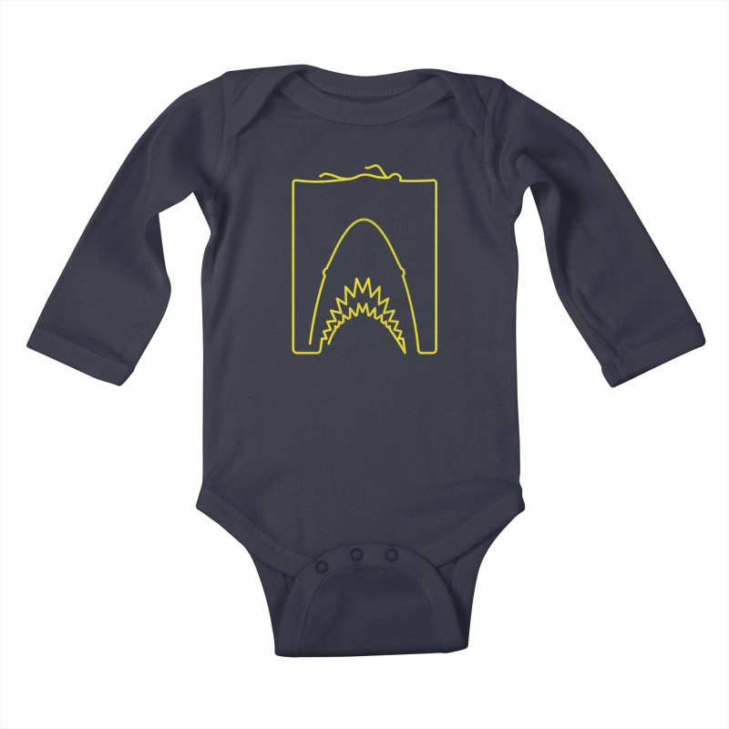 The Swimming Kids Baby Longsleeve Bodysuit by Opippi