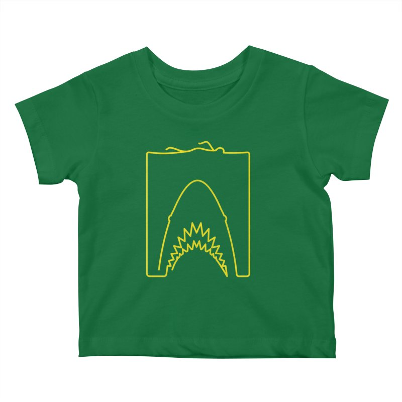 The Swimming Kids Baby T-Shirt by Opippi