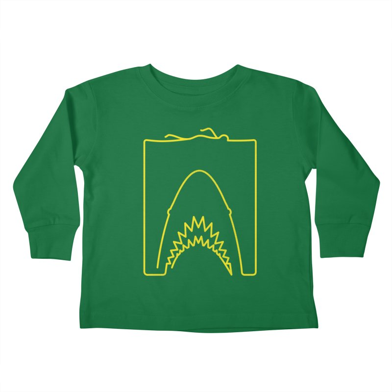 The Swimming Kids Toddler Longsleeve T-Shirt by Opippi