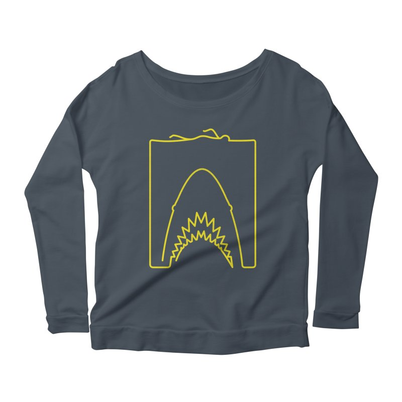 The Swimming Women's Scoop Neck Longsleeve T-Shirt by Opippi