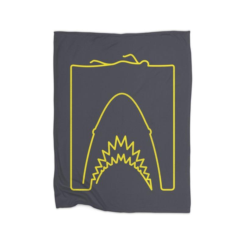The Swimming Home Fleece Blanket Blanket by Opippi