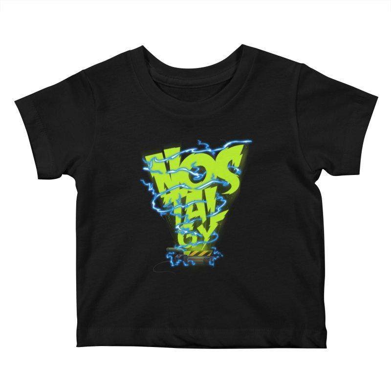 Nostalgy Kids Baby T-Shirt by Opippi