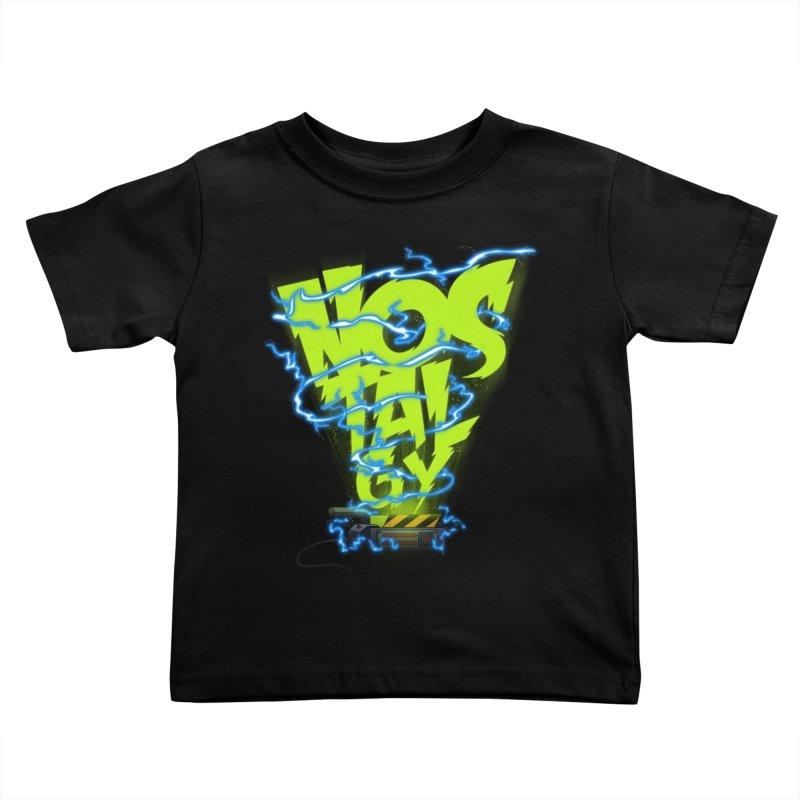 Nostalgy Kids Toddler T-Shirt by Opippi