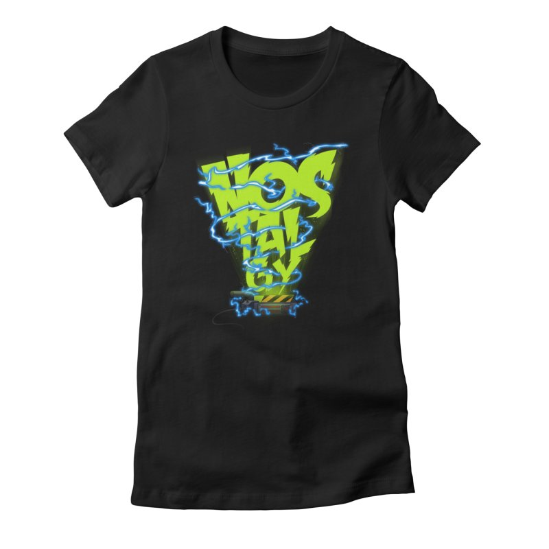 Nostalgy Women's Fitted T-Shirt by Opippi