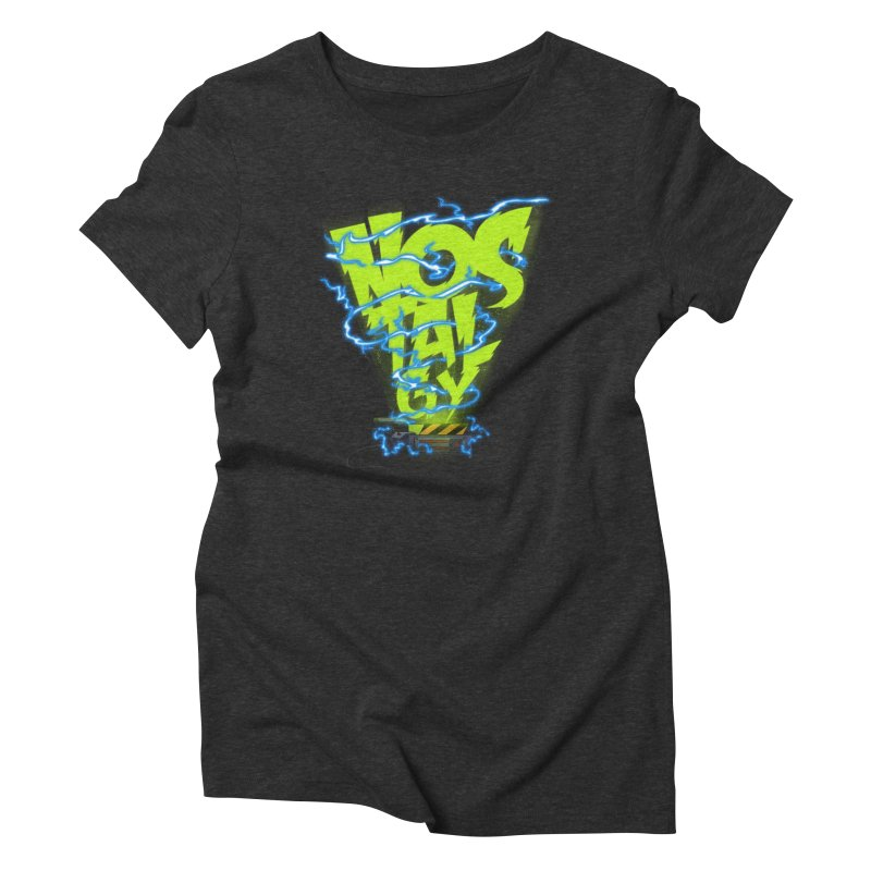 Nostalgy Women's Triblend T-shirt by Opippi