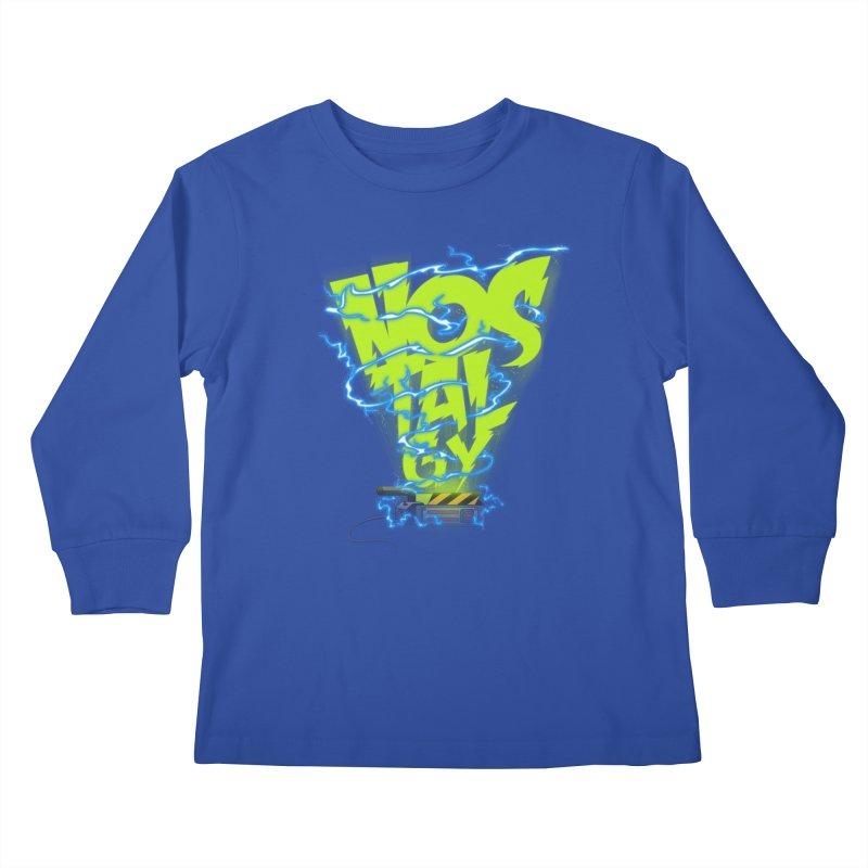 Nostalgy Kids Longsleeve T-Shirt by Opippi