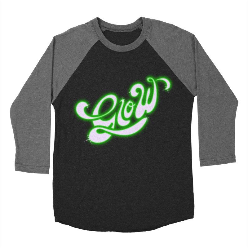 Glow Women's Baseball Triblend T-Shirt by Opippi