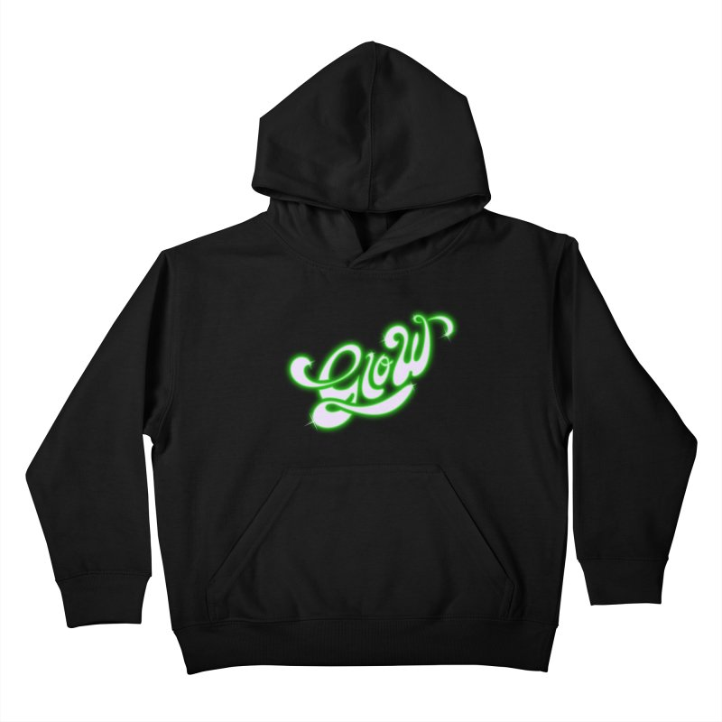 Glow Kids Pullover Hoody by Opippi