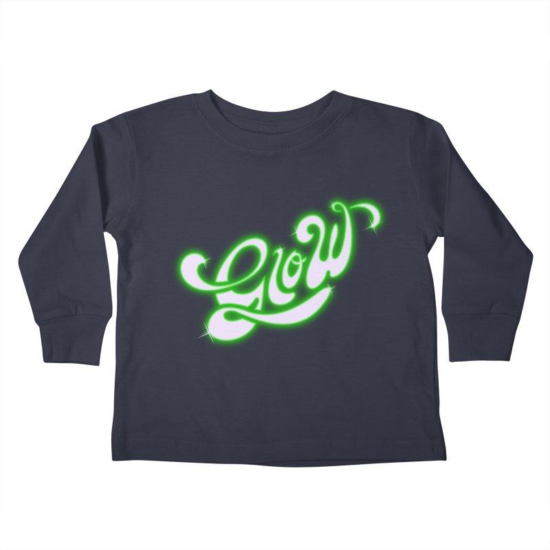 Glow Kids Toddler Longsleeve T-Shirt by Opippi
