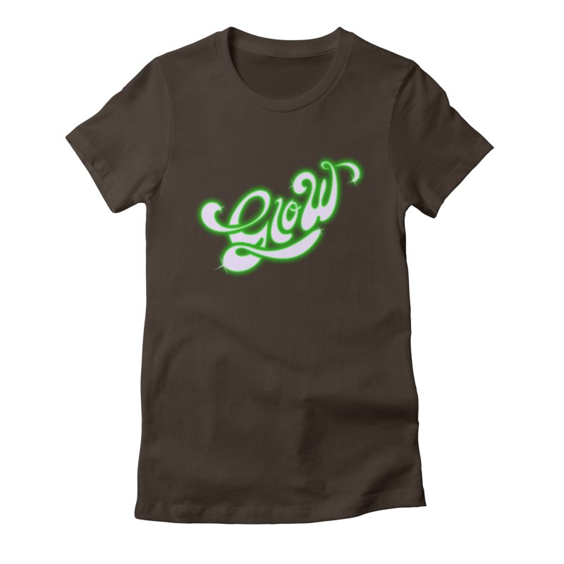 Glow Women's Fitted T-Shirt by Opippi
