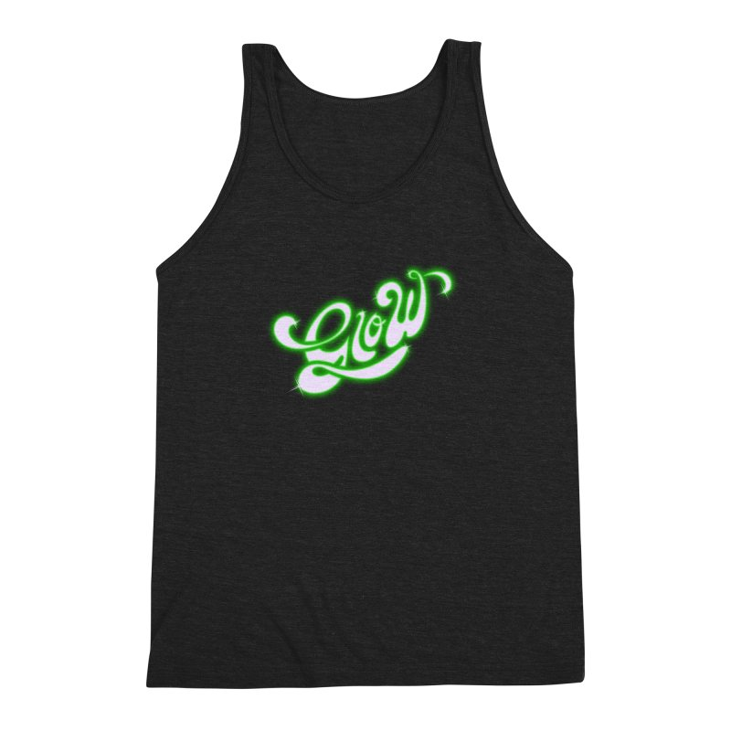 Glow Men's Triblend Tank by Opippi