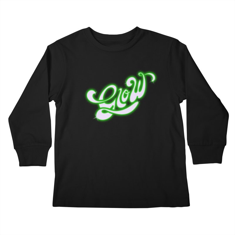 Glow Kids Longsleeve T-Shirt by Opippi