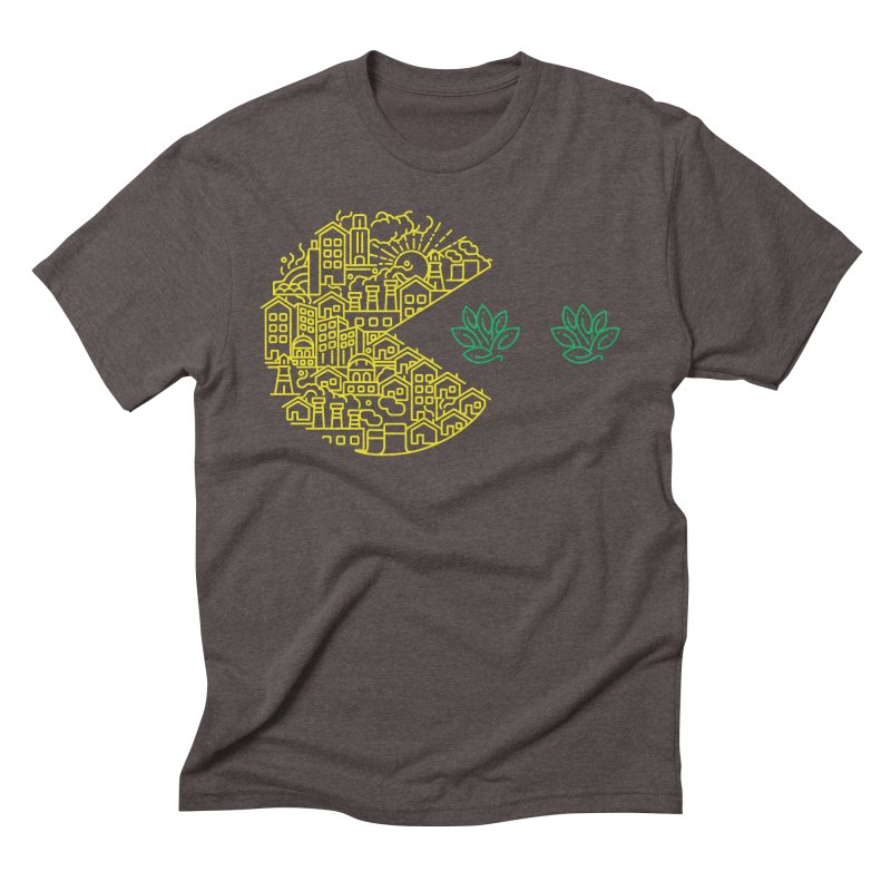 is the game over? Men's Triblend T-shirt by Opippi
