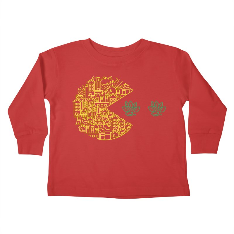 is the game over? Kids Toddler Longsleeve T-Shirt by Opippi