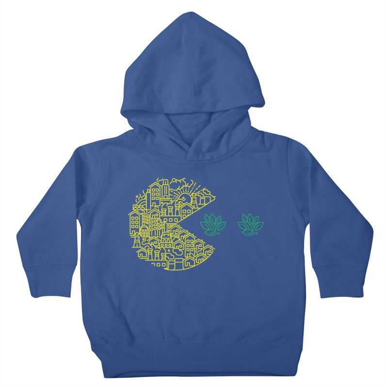is the game over? Kids Toddler Pullover Hoody by Opippi