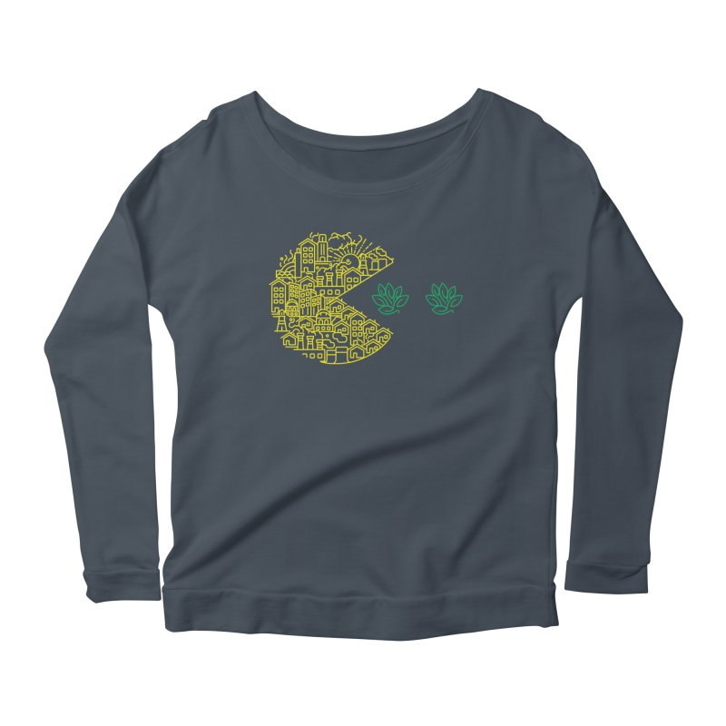 is the game over? Women's Longsleeve Scoopneck  by Opippi
