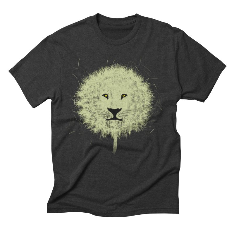Dandelion Men's Triblend T-shirt by Opippi
