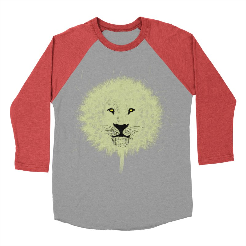 Dandelion Women's Baseball Triblend T-Shirt by Opippi