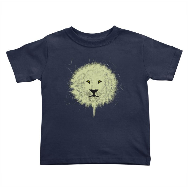 Dandelion Kids Toddler T-Shirt by Opippi