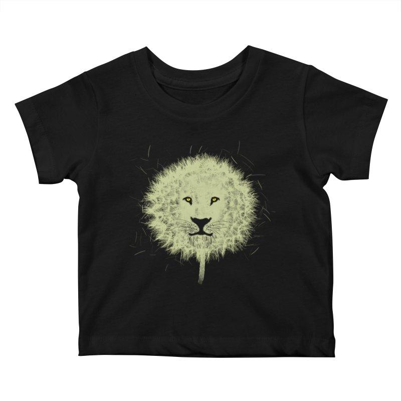Dandelion Kids Baby T-Shirt by Opippi