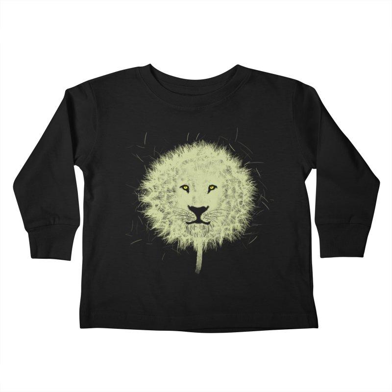 Dandelion Kids Toddler Longsleeve T-Shirt by Opippi