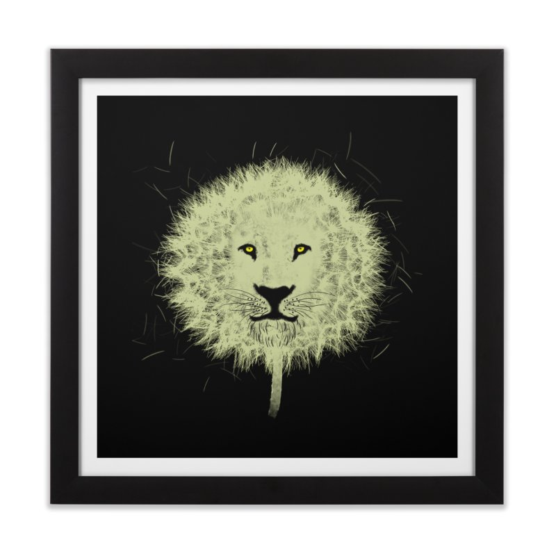 Dandelion Home Framed Fine Art Print by Opippi