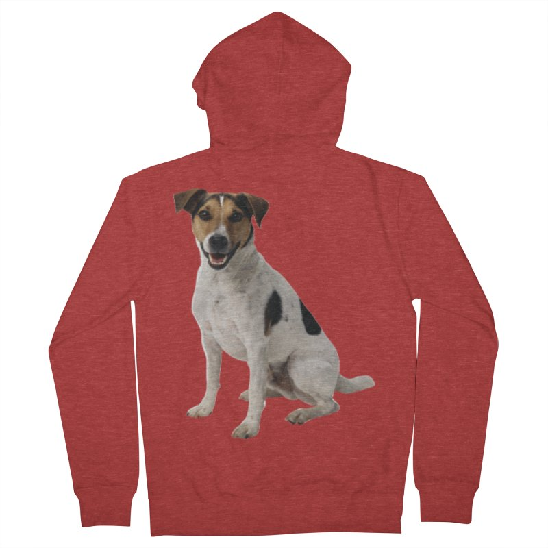 PUPPY 2 Women's Zip-Up Hoody by THE ORANGE ZEROMAX STREET COUTURE